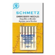 Schmetz Embroidery Needles Size 75/11
